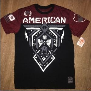 New! Men's American Fighter Shirt Size XL